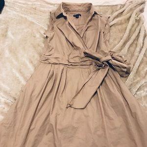 Nina Leonard wrap dress